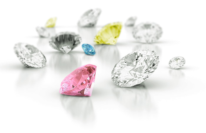 colored cvd man made diamonds from MadeStones