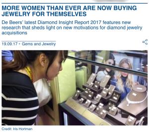 More women buying jewelry