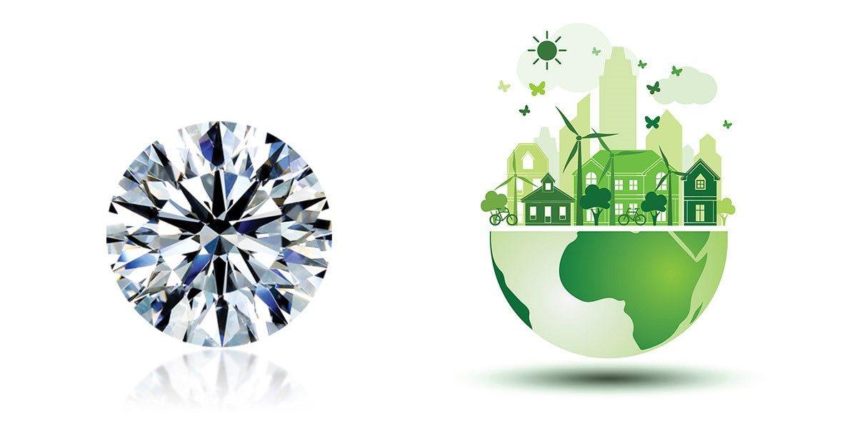 Lab-grown Diamonds Meet Fairtrade Gold to Make Gorgeous